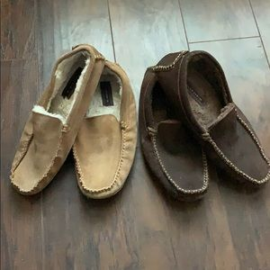 Florsheim Mens Moccasin Loafers Two Pair